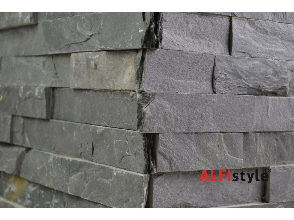 kamenný obklad z bridlice BL001 roh