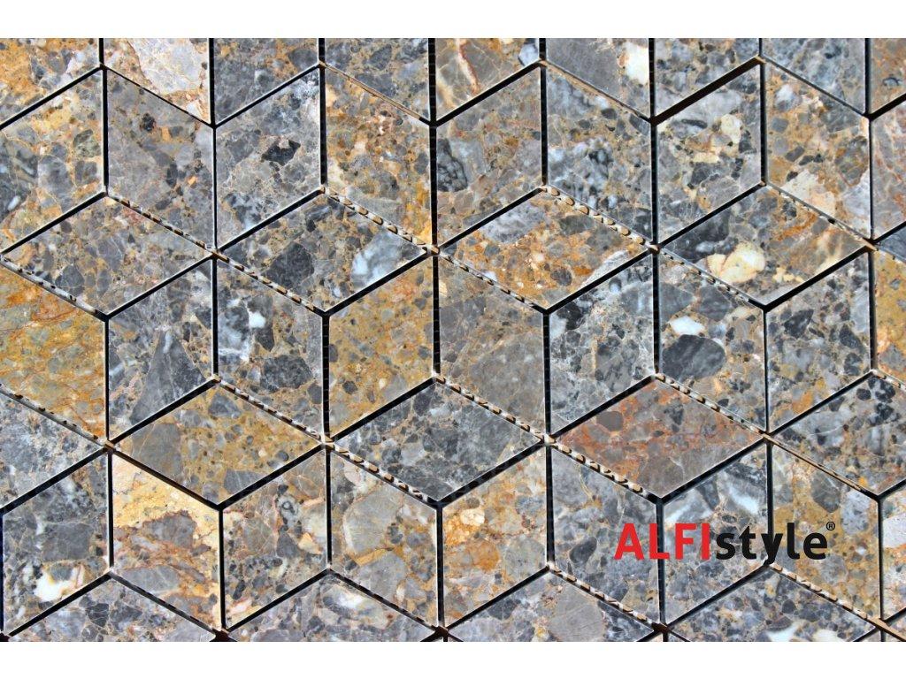 Kamenný mozaika z mramoru NH201 1317