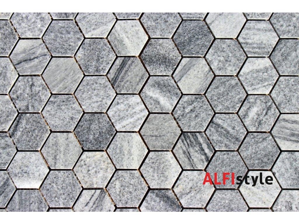 Kamenný mozaika z mramoru NH205 1337