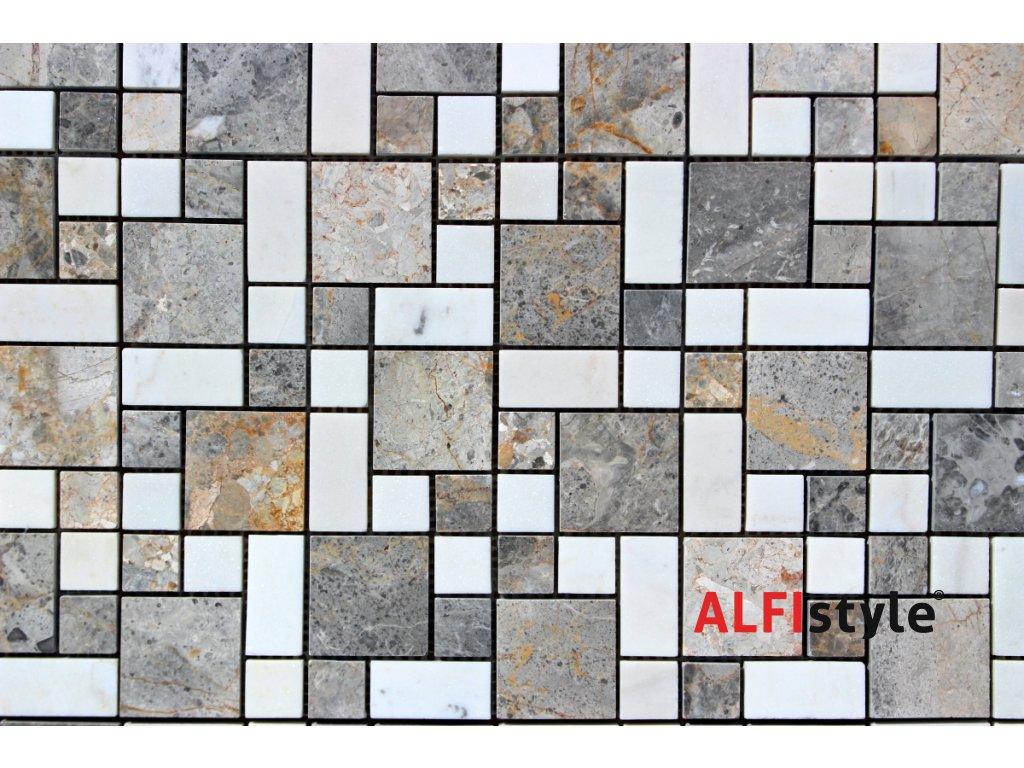 Kamenný mozaika z mramoru NH208 1355