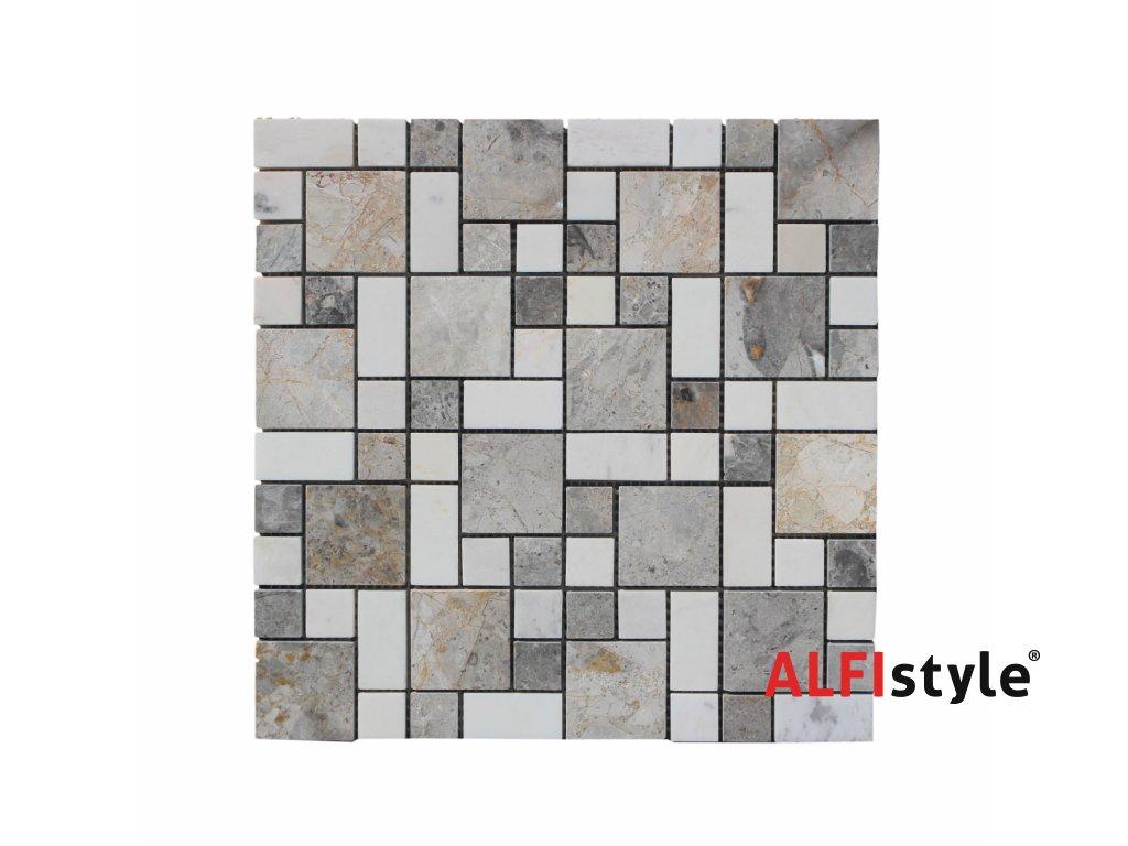 Kamenný mozaika z mramoru NH208