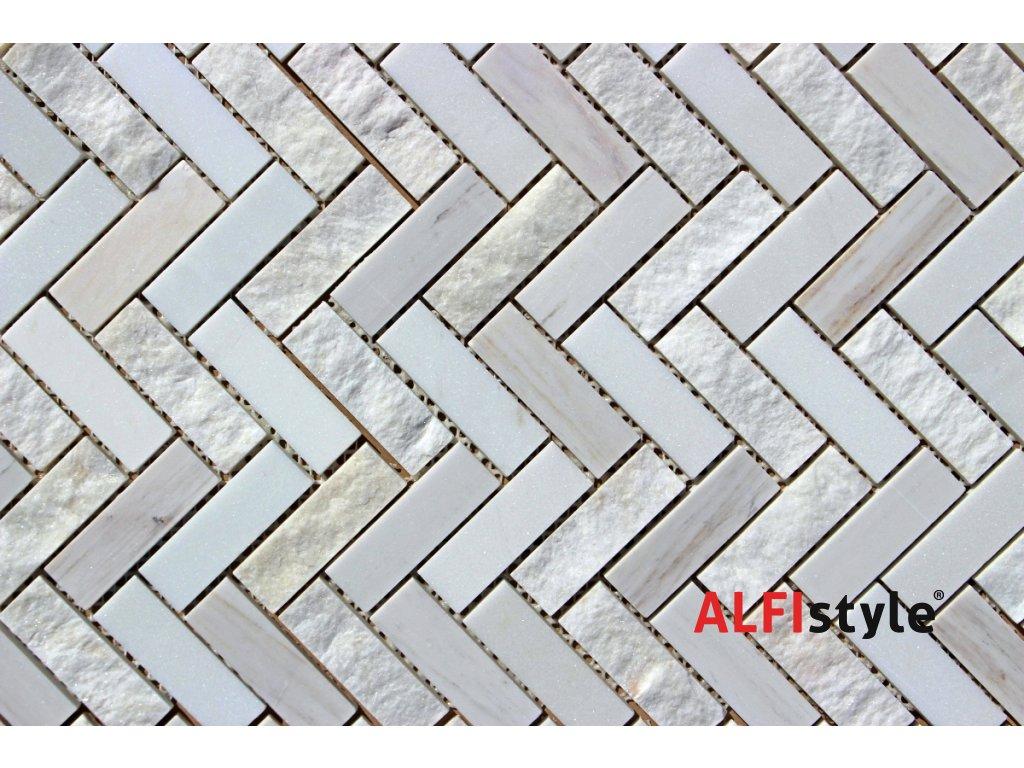 Kamenný mozaika z mramoru NH212 1361