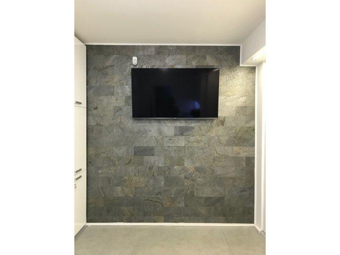 3D samolepici kamenny obklad břidlice šedozelená ESP009