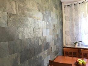 3D samolepici kamenny obklad břidlice multicolor ESP010