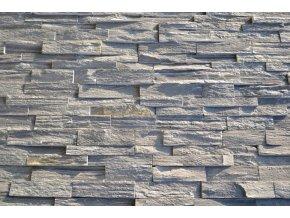 Kamenný obklad, ČERNÁ břidlice, tloušťka 2-3,5cm, BL002