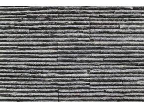 kamenný obklad kvarcit černý BL007