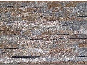 Kamenný obklad, kvarcit RUSTY, tloušťka 1-2 cm, BL011